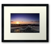 Moss Beach River to the Sea Framed Print