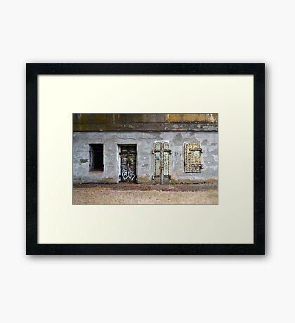Fort Barry - Choose Your Door Framed Print