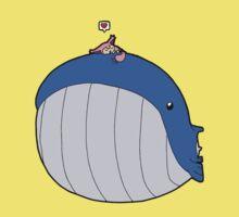 HSOWA- Skitty Loves Wailord One Piece - Short Sleeve