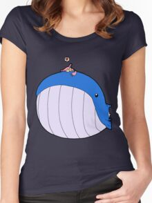 HSOWA- Skitty Loves Wailord Women's Fitted Scoop T-Shirt
