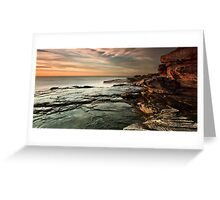 Red Cliffs Greeting Card