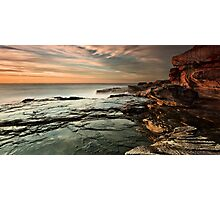 Red Cliffs Photographic Print