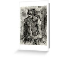 Figure Drawing Greeting Card