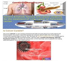 Generic Anti-Cancer Drugs directly from an online International Wholesale Pharmacy by Sanjay Jain
