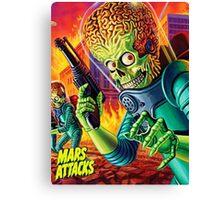 Mars Attack Canvas Print