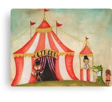 Lets go to the circus Canvas Print