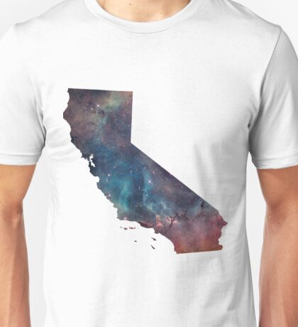 California Nebula Unisex T-Shirt