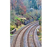 Round The Bend Photographic Print