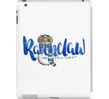 Ravenclaw The Intelligent iPad Case/Skin