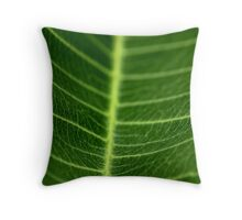 Leaf Veins Throw Pillow