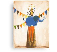 juggling Canvas Print