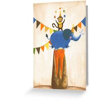 juggling Greeting Card