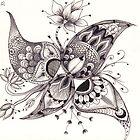 Zentangle 1 by Alycia Rowe