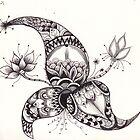 Zentangle 2 by Alycia Rowe