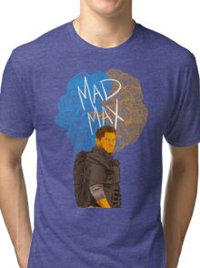 "Tom Hardy ""Mad Max"" (Transparent) Tri-blend T-Shirt"