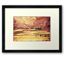 Five Friends On A Foothill Framed Print