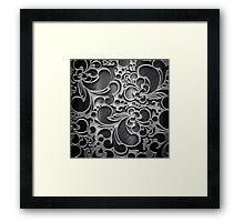 B&W Lux Framed Print
