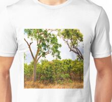 Eucalyptus Trees and Dry Grass Unisex T-Shirt
