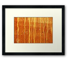 Time Stream Framed Print
