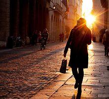 Pedestrians in Vicenza by kumari