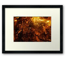Marks Time Framed Print