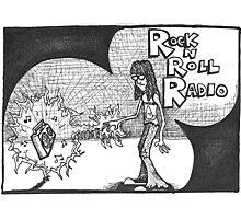 Rock n Roll Radio Photographic Print