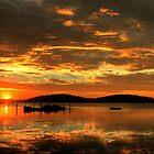 Lake Sunset by ImageBud