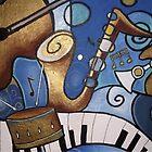 Musical Mural by Cherie Roe Dirksen