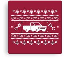 Datsun 720 Ugly Sweater Canvas Print