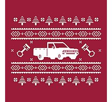 Datsun 720 Ugly Sweater Photographic Print