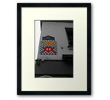 Space Invader 4 Framed Print