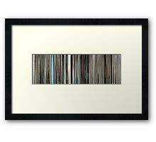 Moviebarcode: The Graduate (1967) Framed Print