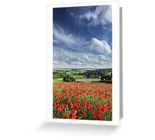 Poppylicious View Greeting Card