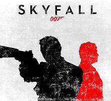 James Bond Skyfall by Zoe Toseland