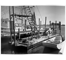 Trawler and Skiff Poster