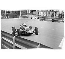Vintage Formula 2 race Poster