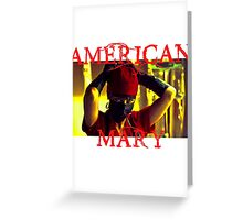 American Mary - For Horror Fans Greeting Card