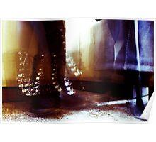 Dancing Feet Colour Poster