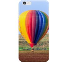 inflated Hot air balloon. Photographed in israel iPhone Case/Skin