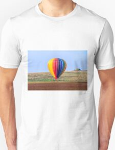 inflated Hot air balloon. Photographed in israel Unisex T-Shirt