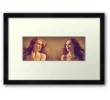 Dark side inside Framed Print