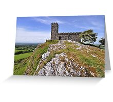Brentor Church - Devon Greeting Card