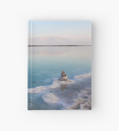 Israel, Dead Sea, salt crystalization caused by water evaporation Hardcover Journal