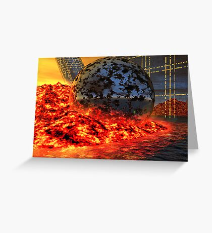 Fire and Steel - A Fantasy Greeting Card