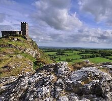 Brentor Church, Dartmoor National Park - Devon by Dave Lawrance
