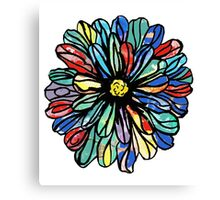 Blooming With Color Canvas Print