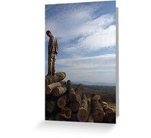 Mountain Man Greeting Card