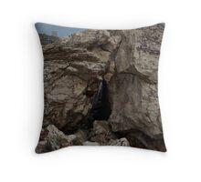 Tower Rock  Throw Pillow