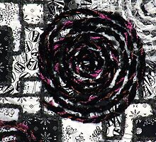 Black & White with a Splash by Pamela Gregan