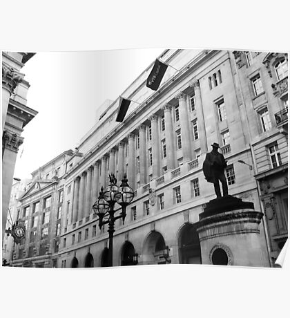 Bank, City of London Poster